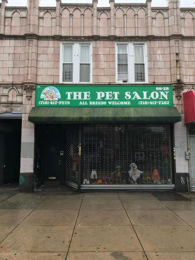 Commercial For Sale: 66-28 Myrtle Avenue