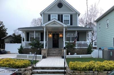 Single Family Home For Sale: 222 Wood Avenue