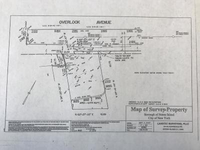 Staten Island Residential Lots & Land For Sale: Overlook Avenue