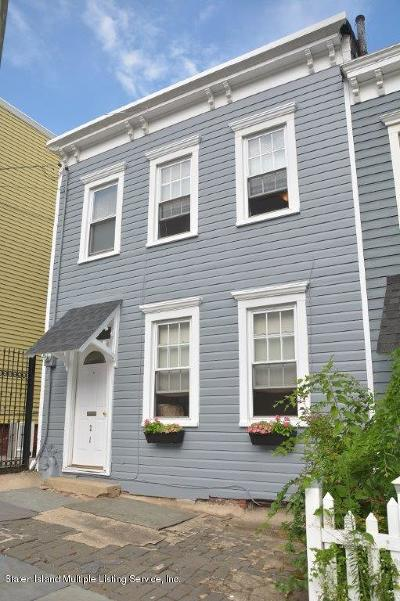 Staten Island Semi-Attached For Sale: 21 Targee Street