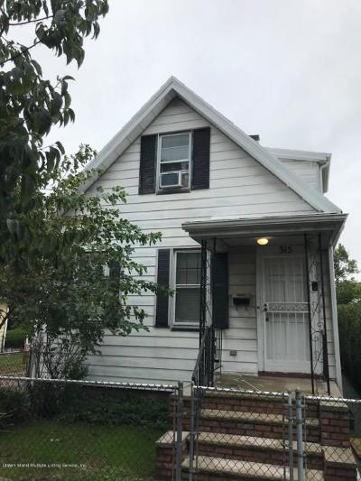 Single Family Home For Sale: 315 Oder Avenue