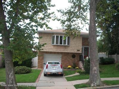 Staten Island Single Family Home For Sale: 338 Delmar Avenue