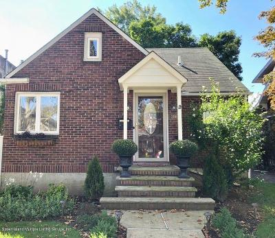 Staten Island NY Single Family Home Acceptance: $688,800
