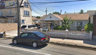 Staten Island Single Family Home Acceptance: 562 Midland Avenue #Front
