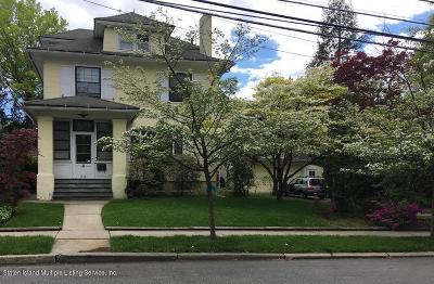 Staten Island Single Family Home For Sale: 238 College Avenue