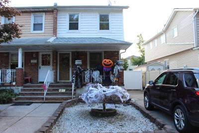 Staten Island Semi-Attached For Sale: 228 Woodrow Road