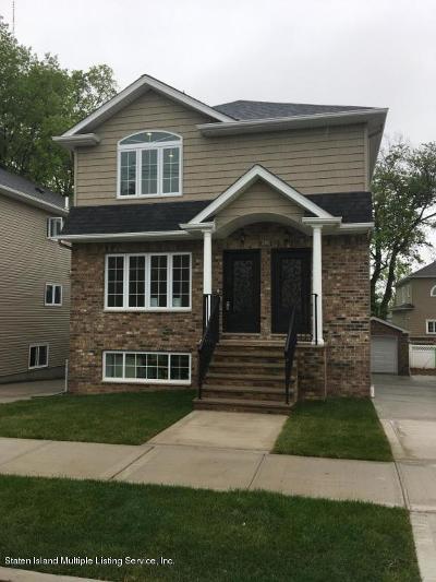 Staten Island Rental For Rent: 286 Bradford Avenue #Upper