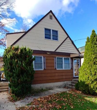 Two Family Home For Sale: 192 Livingston Avenue