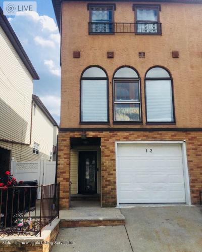 Staten Island Semi-Attached For Sale: 12 Ebey Lane