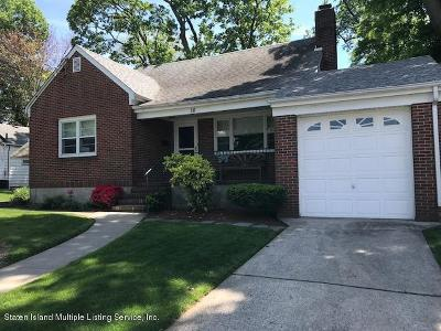 Staten Island Single Family Home For Sale: 16 W Raleigh Avenue