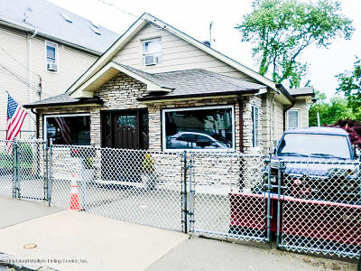 Staten Island Single Family Home For Sale: 452 Home Avenue