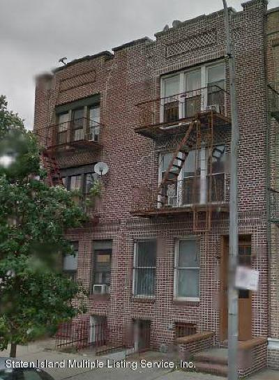 Brooklyn Multi Family Home For Sale: 413 68 Street