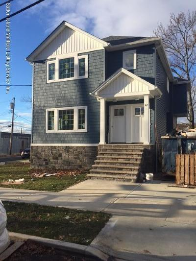 Staten Island Two Family Home For Sale: 42 Madera Street
