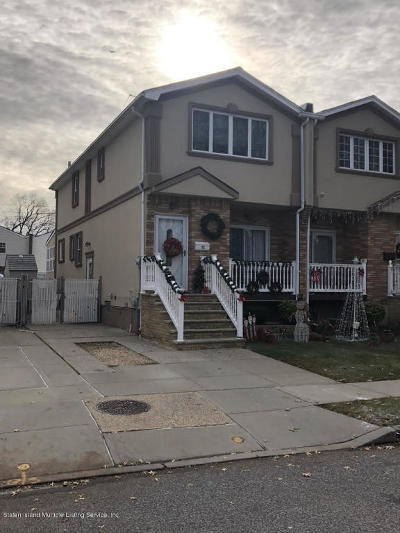 Staten Island NY Semi-Attached For Sale: $579,888