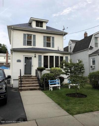 Staten Island Single Family Home For Sale: 25 Dalton Avenue