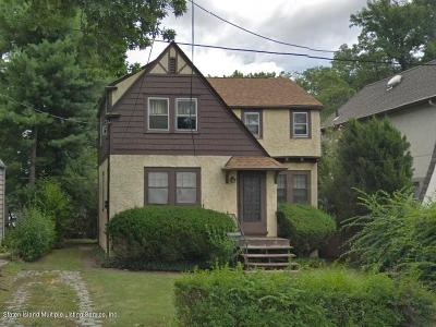 Staten Island Single Family Home Acceptance: 183 Cleveland Avenue