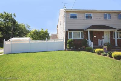 Staten Island Semi-Attached For Sale: 388 Billiou Street