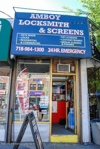 Staten Island Business Opportunity For Sale: 3842 Richmond Avenue