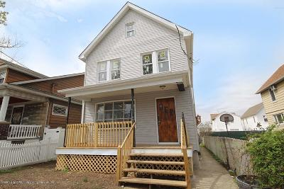 Staten Island Single Family Home For Sale: 80 Erastina Place