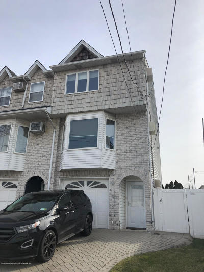Staten Island Semi-Attached For Sale: 532 Nugent Avenue