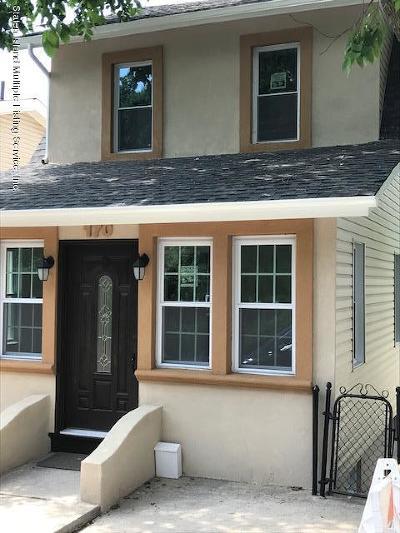 Staten Island Single Family Home For Sale: 170 Hillside Avenue