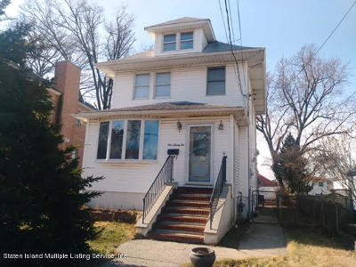 Single Family Home For Sale: 192 Perry Avenue