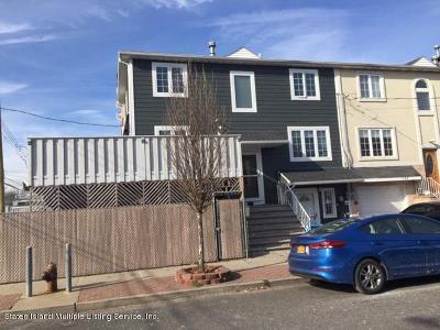 Staten Island Semi-Attached For Sale: 133 Baden Place