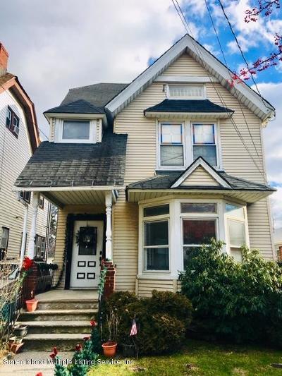 Staten Island Two Family Home For Sale: 327 Heberton Avenue