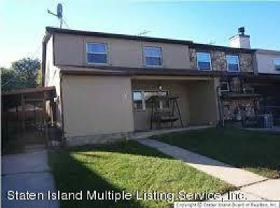 Staten Island Semi-Attached For Sale: 38 Andrea Place