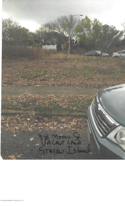 Staten Island Residential Lots & Land For Sale: 38 Memo Street