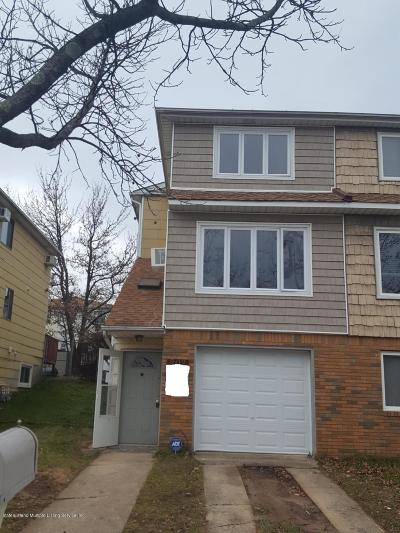 Staten Island Semi-Attached For Sale: 202 Sandalwood Drive
