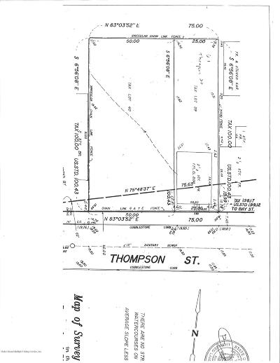 Staten Island Residential Lots & Land For Sale: 61 Thompson Street