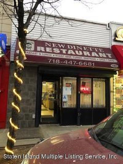 Staten Island Commercial For Sale: 187 Port Richmond Avenue #1
