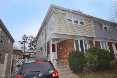 Staten Island Semi-Attached For Sale: 69 Bradley Avenue