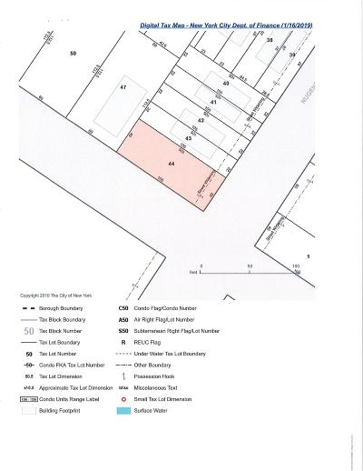 Staten Island Residential Lots & Land For Sale: Seaver Avenue