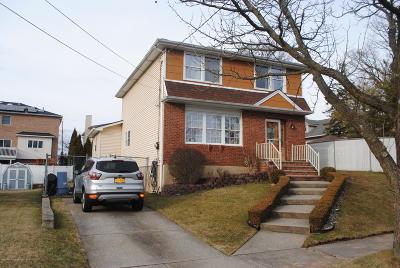 Staten Island Single Family Home For Sale: 327 Ashland Avenue