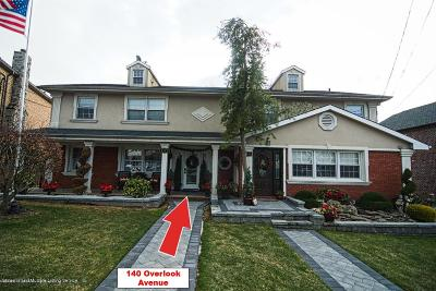 Staten Island Two Family Home For Sale: 140 Overlook Avenue