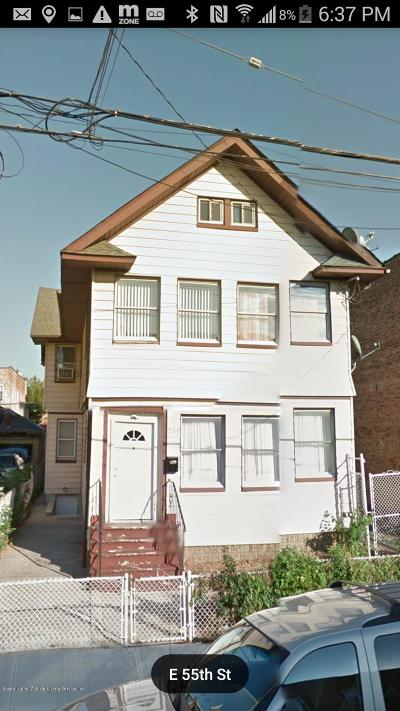 Brooklyn Two Family Home For Sale: 251 E 55th Street