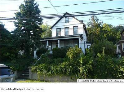 Staten Island Single Family Home For Sale: 15 Pleasant Plains Avenue