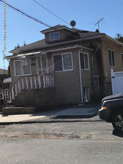 Staten Island Single Family Home For Sale: 118 Bionia Avenue