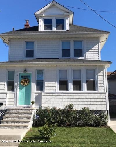 Staten Island Single Family Home For Sale: 173 Livermore Avenue