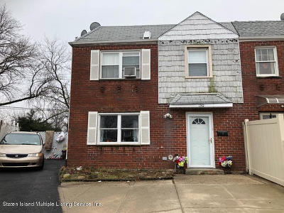 Staten Island Two Family Home For Sale: 130 Comstock Avenue