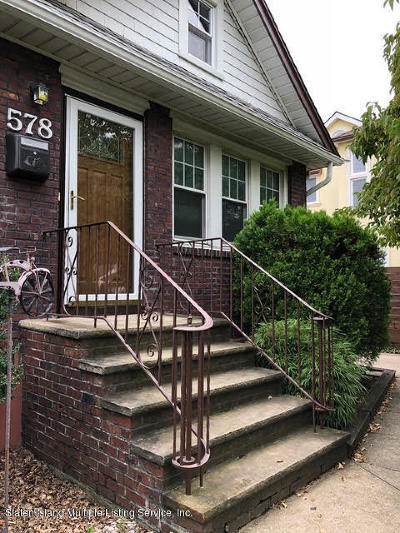 Staten Island Single Family Home For Sale: 578 Arden Avenue