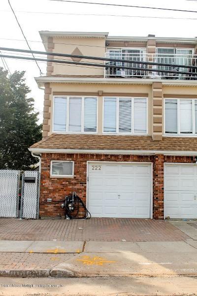 Staten Island Semi-Attached For Sale: 222 Norway Avenue