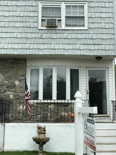 Staten Island Semi-Attached For Sale: 48 Mulberry Avenue