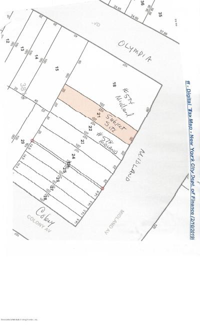 Staten Island Residential Lots & Land For Sale: Midland Avenue