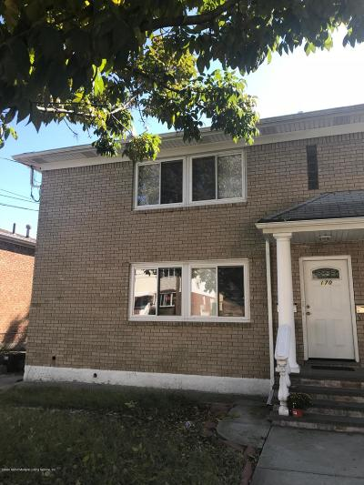 Staten Island Two Family Home For Sale: 170 Titus Avenue
