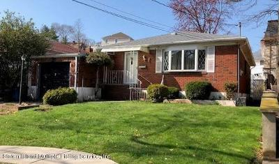 Staten Island Single Family Home For Sale: 7 Spring Street