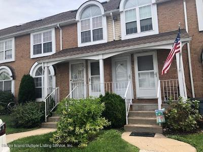 Staten Island Condo/Townhouse For Sale: 47 Jennifer Place #B