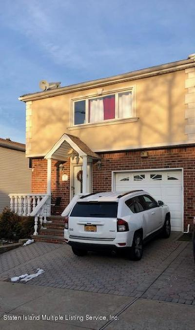 Staten Island Semi-Attached For Sale: 401 Bartlett Avenue